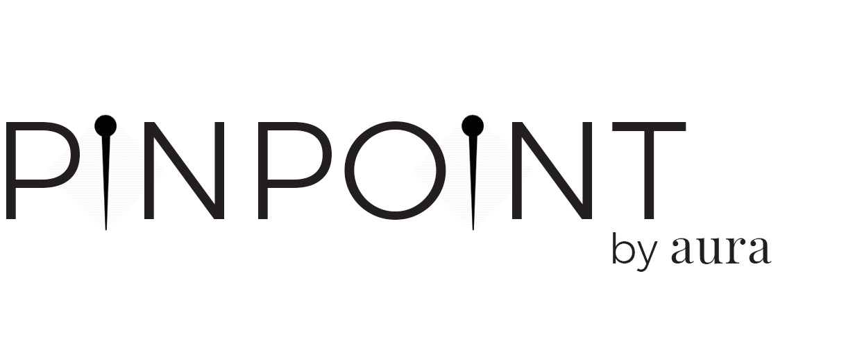 Pinpoint by aura logo