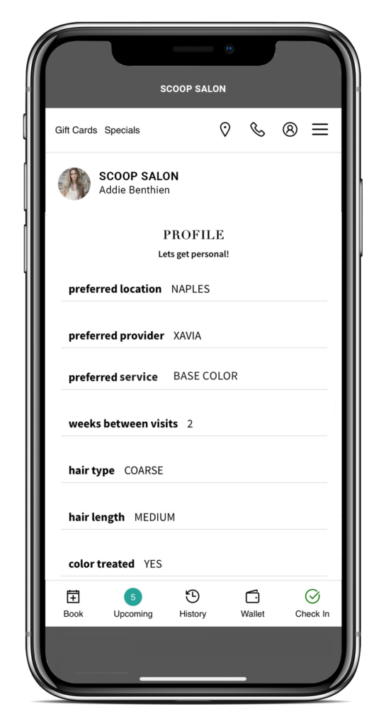 Prescribed Visits in the Client App